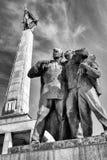 Мемориальный памятник Slavin в Братиславе - Словакии Стоковая Фотография RF
