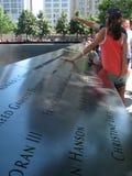 9-11 мемориал Стоковые Фотографии RF