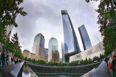 мемориал 9 11 Стоковая Фотография