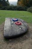 Мемориал 2 B17G Стоковые Фотографии RF