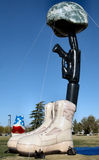 Мемориал Battlecross Стоковое Изображение RF