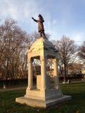Мемориал Farrier в Lincoln Park во время захода солнца осенью Стоковые Фото