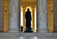 мемориал jefferson Вашингтон, США Стоковая Фотография RF