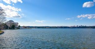 мемориал jefferson Вашингтон, США Стоковая Фотография