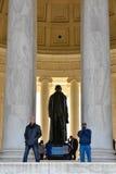 мемориал jefferson Вашингтон, США Стоковые Изображения