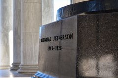 мемориал jefferson Вашингтон, США Стоковое Изображение