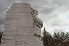 мемориал martin luther короля младшего мемориально стоковая фотография rf