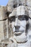 Мемориал Mount Rushmore национальный с президентом Авраамом Линкольном стоковая фотография rf