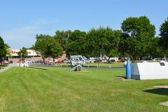 Мемориал USS Южной Дакоты стоковые фотографии rf