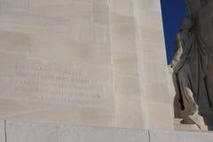 Мемориал Vimy в Франции Стоковая Фотография