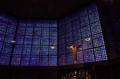 мемориал wilhelm kaiser церков berlin Стоковое Изображение RF