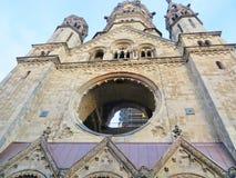 мемориал wilhelm kaiser церков berlin Стоковая Фотография