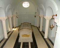 Мемориал WWI в Marasesti Mausoluem Стоковые Фотографии RF