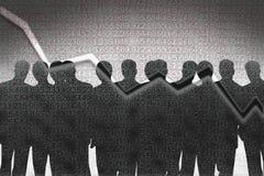 менеджеры банка Стоковая Фотография RF