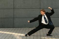 менеджер бой Стоковое Изображение RF