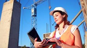 Менеджер инженера женщины Стоковое Фото