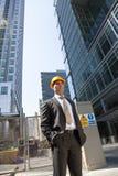 менеджер конструкции города стоковое изображение rf