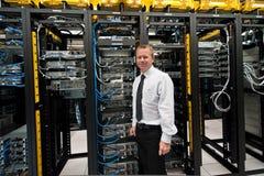 Менеджер Datacenter стоковое изображение rf