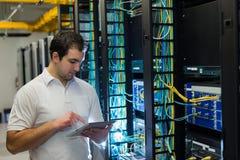 Менеджер Datacenter стоковые изображения rf