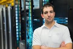 Менеджер Datacenter стоковая фотография rf