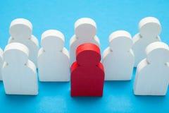 Менеджер HR, привлекая самые лучшие выбранные Выбор людей конкуренции стоковые фото
