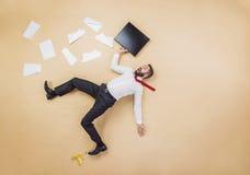 Менеджер имея аварию Стоковое Фото