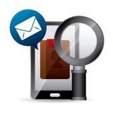 Менеджер контакта app Стоковые Изображения