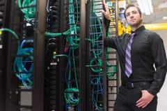 Менеджер центра данных Стоковая Фотография RF