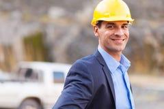 Менеджер шахты Стоковые Изображения RF