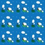 Ментальность овец Стоковое фото RF
