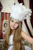 Меньшая актриса цирка Стоковые Фото