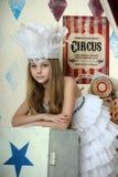 Меньшая актриса цирка Стоковое Изображение