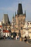 Меньшая башня моста городка Стоковое Фото