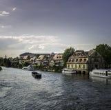 Меньшая Венеция Бамберг стоковая фотография rf