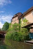 Меньшая Венеция в Кольмаре в Эльзасе в Франции Стоковые Фотографии RF