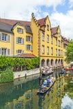 Меньшая Венеция в Кольмаре, Франции Стоковые Изображения RF