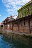 Меньшая Венеция на Кольмаре в Эльзасе Франции Стоковая Фотография