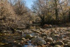 Меньшая вода, серии камней стоковые изображения