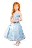 Меньшая девушка redhead стоковая фотография rf