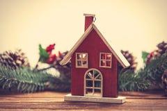 Меньшая игрушка дома Стоковые Изображения