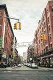 Меньшая Италия, Манхаттан, Нью-Йорк, Соединенные Штаты стоковое фото rf