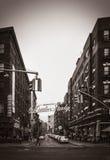 Меньшая Италия, Манхаттан, Нью-Йорк, Соединенные Штаты стоковые фотографии rf