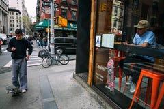 Меньшая Италия, Манхаттан, Нью-Йорк, Соединенные Штаты стоковое изображение rf