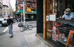 Меньшая Италия, Манхаттан, Нью-Йорк, Соединенные Штаты стоковое фото