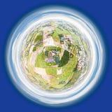 Меньшая планета домов фермера Стоковая Фотография RF