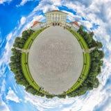 Меньшая планета замка Nymphenburg стоковая фотография