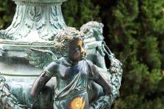 Меньшая статуя угла стоковое фото rf