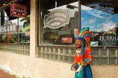 Меньшая фабрика сигары Гаваны Стоковые Фото