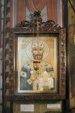 меньшая церковь нет далеко от большой церков троицы Святого - Sameba Стоковые Изображения RF