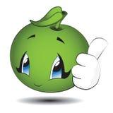 Меньшее зеленое Яблоко Стоковое фото RF